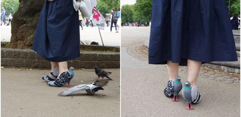 O creatoare japoneză de pantofi îi sperie pe oameni cu noua ei pereche