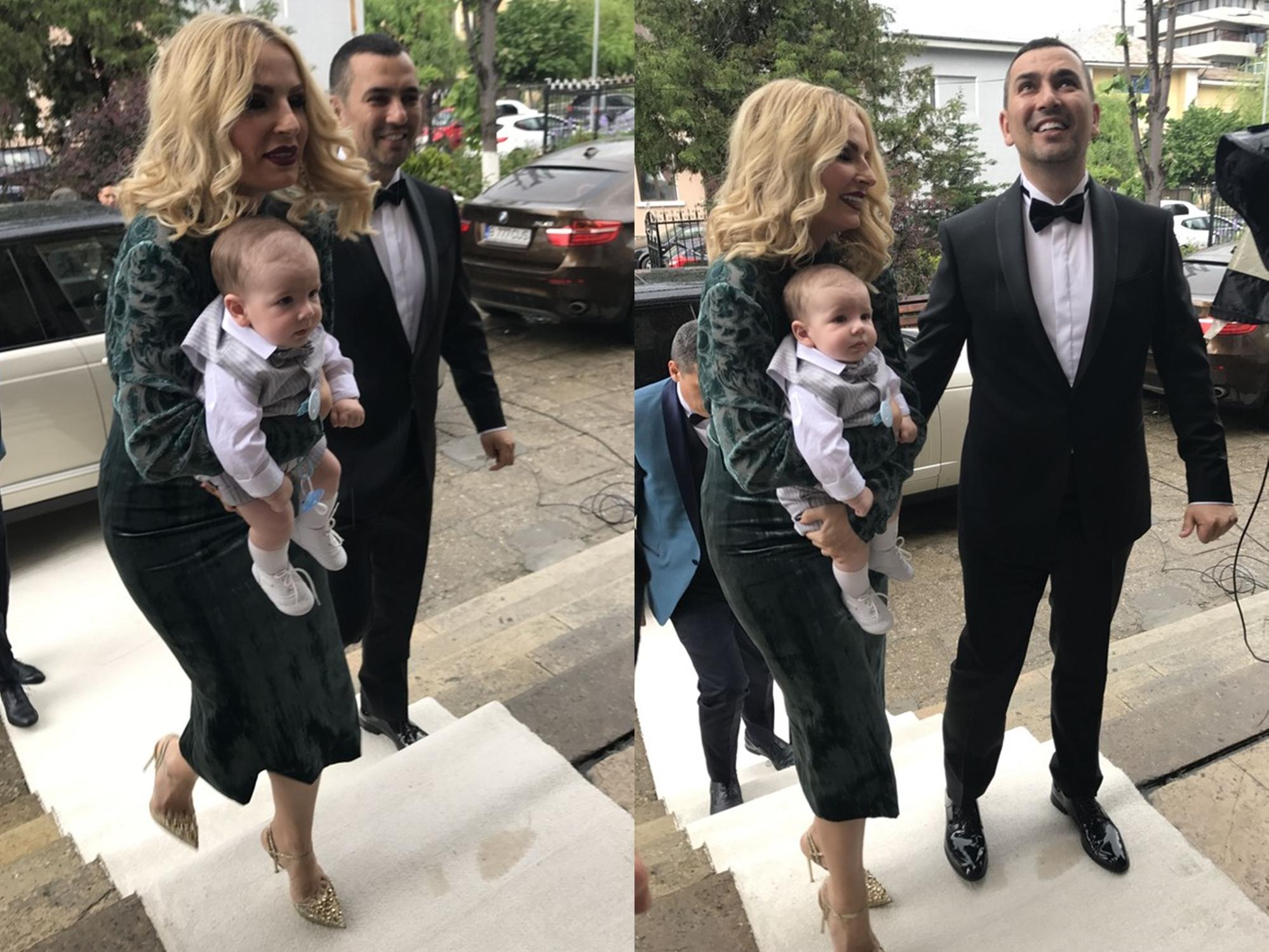 Andreea Bănică A Organizat Un Botez Regesc Pentru Fiul Său