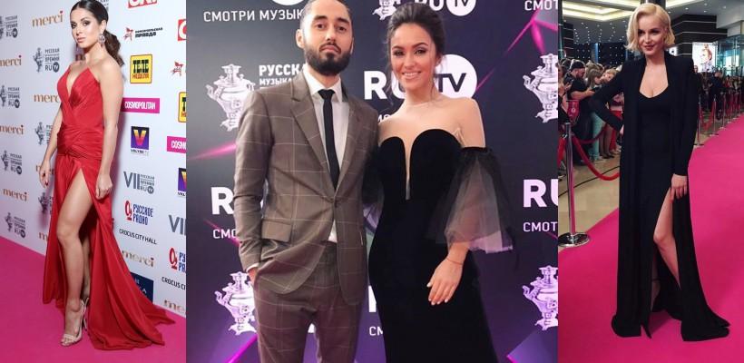 Elita muzicii rusești s-a adunat la Gala RU.TV. Printre oaspeți: Polina Gagarina, Nyusha, MOT ș.a.