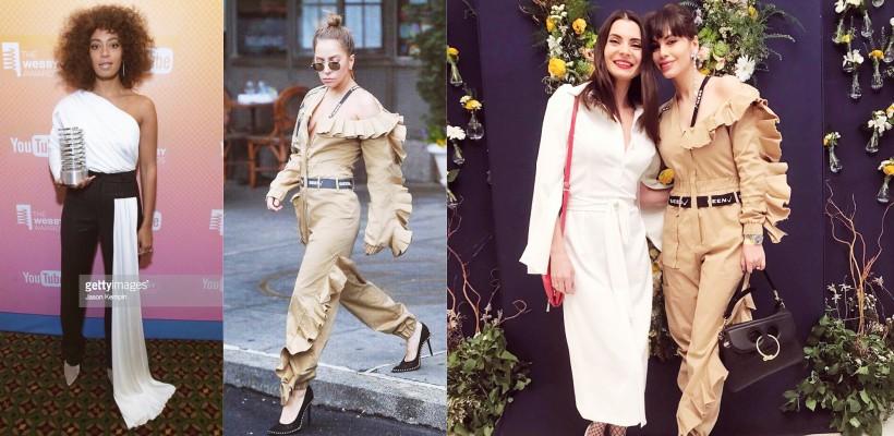 Lady Gaga și sora lui Beyoncé poartă hainele unei creatoare de modă de peste Prut! Despre cine este vorba (FOTO)