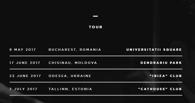 O-Zone turneu