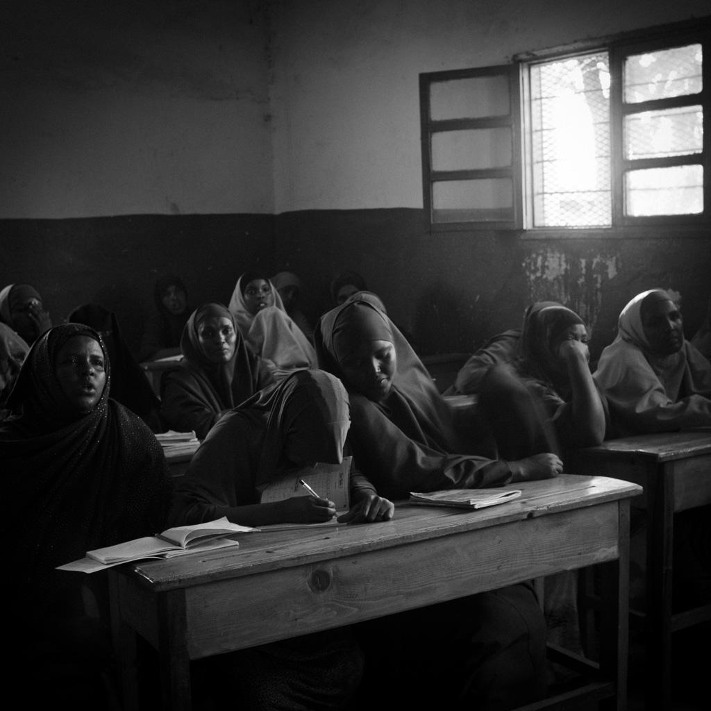 Scuola superiore. Hargheisa, somaliland. 2015