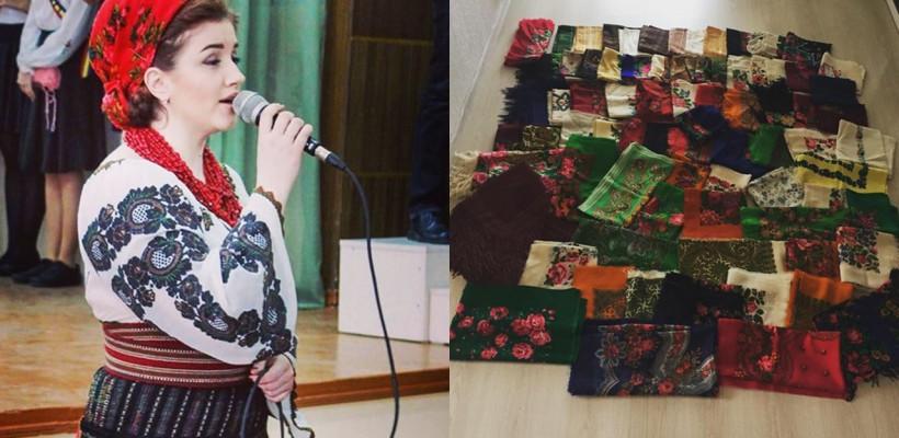 O interpretă de muzică populară de la noi se laudă cu o colecție de 100 de baticuri tradiționale! Despre cine este vorba