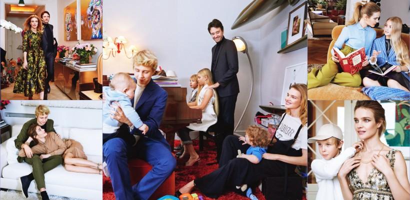Natalia Vodianova și-a arătat apartamentul din Franța, unde locuiește alături de soț și cei 5 copii
