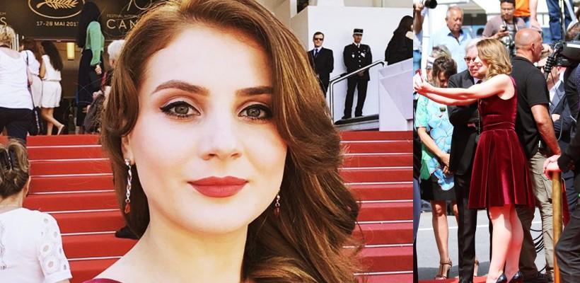 O reputată actriță din Republica Moldova, invitată la Festivalul Internațional de Film de la Cannes