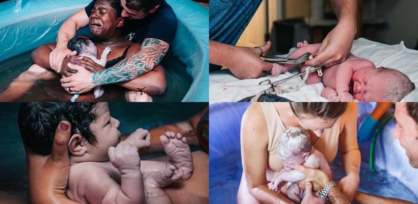 O fotografă de peste ocean surprinde cel mai intens moment din viața femeilor – nașterea! Imaginile ei fac înconjurul lumii