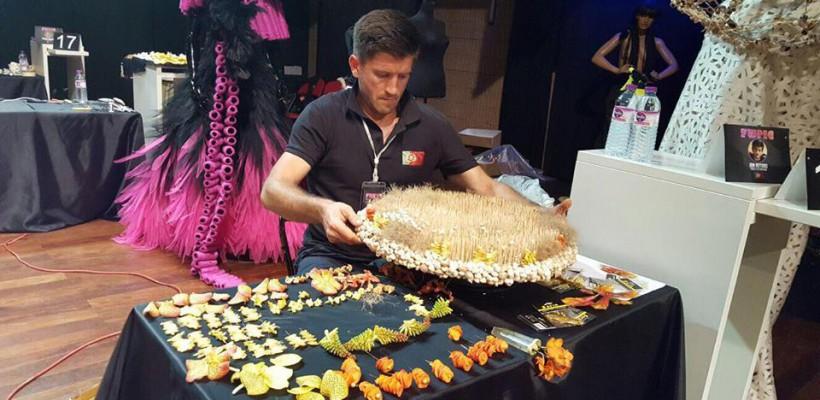 Ion Rotaru, floristul din Telenești, este Campionul Portugaliei la aranjamente florale