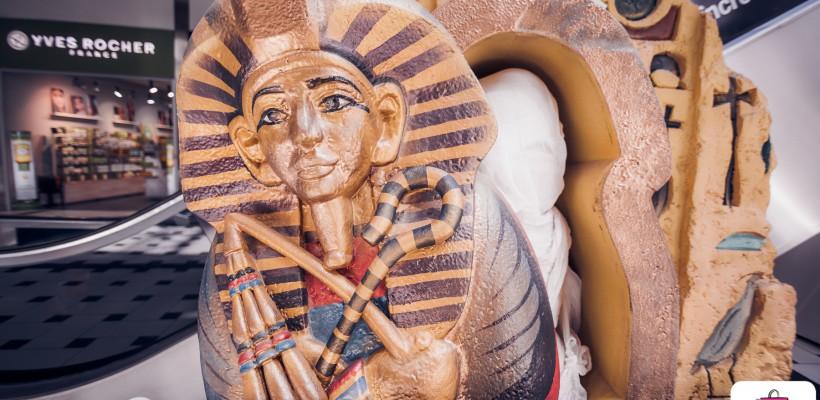 """A fost dat startul expoziției interactive """"Micii Faraoni"""" la Shopping MallDova. Copiii au descifrat misterele Egiptului Antic"""