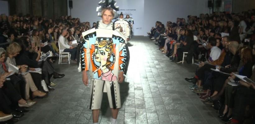 Cele mai trăsnite ținute dedicate bărbaților, la celebrul BA Fashion Show (Foto)
