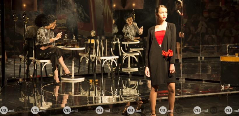 Colecția unui designer autohton, în stilul celebrei Coco Chanel, a marcat un proiect teatral unic în Moldova (Foto)