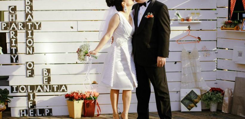Iolanta Mura și Ben Williams, mai fericiți ca niciodată. Iată fotografiile exclusive de la nunta caritabilă