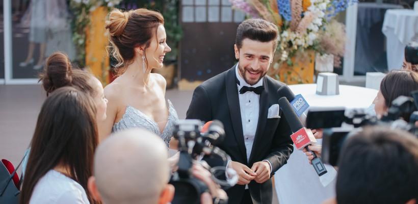 Pasha Parfeni și soția sa Iuliana Scutaru, mai fericiți ca niciodată! Poze exclusive de la nuntă