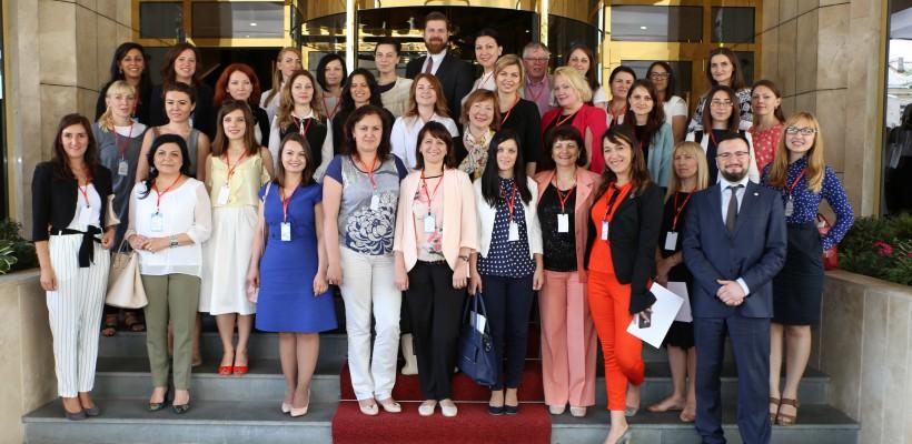 Antreprenoare de succes din mai multe țări europene susțin la Chișinău femeile în afaceri