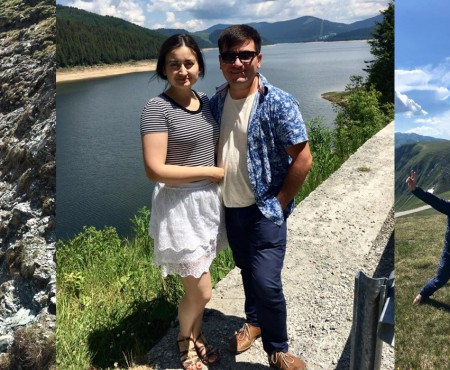 Costi Burlacu și Corina Țepeș explorează cele mai înalte culmi! Ce destinație au ales pentru vacanța de vară (FOTO)