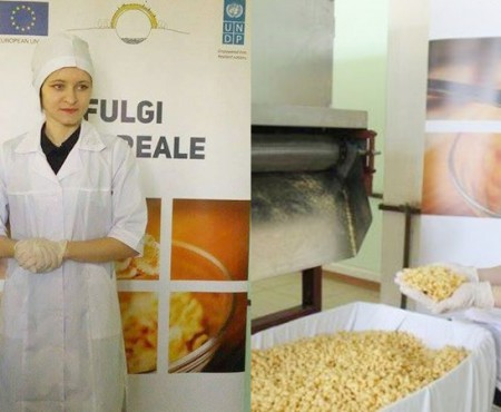 Cum să iei de la UE 15 mii de dolari pentru producerea fulgilor fără gluten. Angela Sobol motivează tinerii să investească acasă