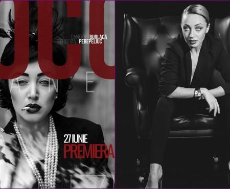 """Acum avem o """"Coco Chanel"""" a noastră! Daniela Burlaca, în rolul celei care a schimbat radical lumea modei"""