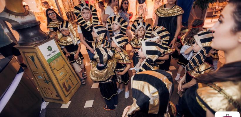 """Expoziția """"Micii faraoni"""" la Shopping MallDova! Oferă-i copilului tău o experiență inedită (Video)"""