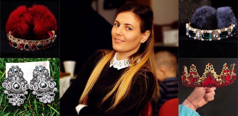 """Ieri – juristă la Chișinău; azi – meșteriță îndrăgită la Chicago! Marta Iacob: """"Femeile care poartă bijuteriile mele sunt deosebite!"""""""