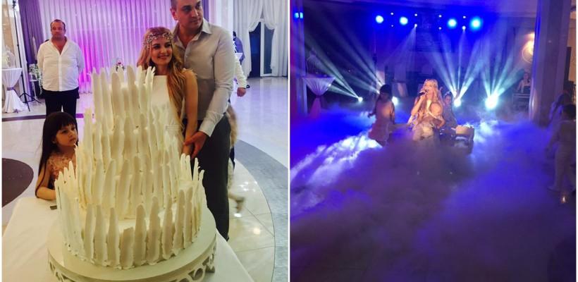 Mariana Mihăilă a lansat o nouă piesă, dedicată fiului ei, la petrecerea de după botez (FOTO/VIDEO)