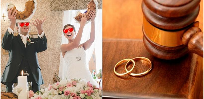 Încheierea căsătoriei durează câteva minute, divorțul însă poate să doară și să dureze mult. Află care e procedura