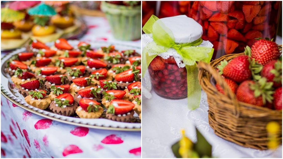 Începe sărbătoarea căpșunii și a mierii, în ciuda tuturor…chiar și în ciuda vremii