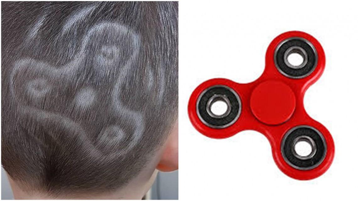 Jucăriile care creează isterie în rândul copiilor au ajuns în frizerii. Băieții își rad părul sub formă de Fidget Spinner