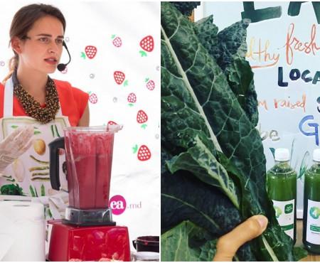 Nutriționista Corina Dascalu le face cadou sucuri din fructe absolvenților cu 10 pe linie la BAC. Tot aici, vezi ABC-ul fructelor