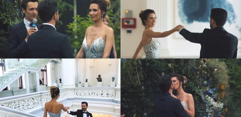O poveste de dragoste în pași de dans! Prospăta familie Parfeni prezintă clipul nunții lor (VIDEO)
