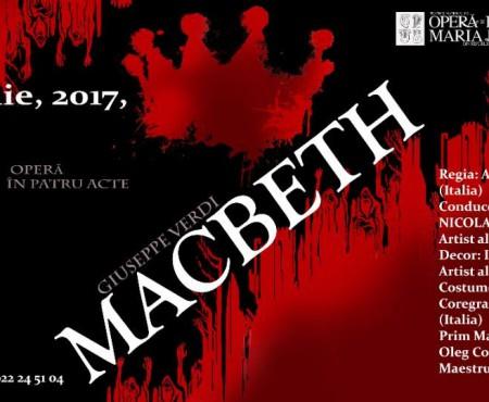 """Premieră cu aer italian la Teatrul de Operă și Balet! Regizorul italian Andrea Battistini ne oferă viziunea sa asupra operei """"Macbeth"""""""