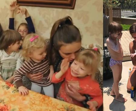 Xenia Deli găzduiește, la reședința sa din Egipt, frații din Rusia cărora le-a donat 2 mln de ruble