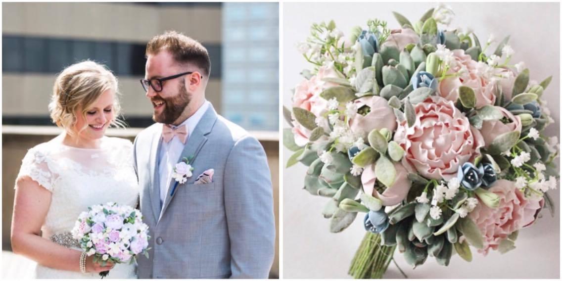 Buchete De Mireasă Cu Flori Din Lut Amintirile De Nuntă Pentru