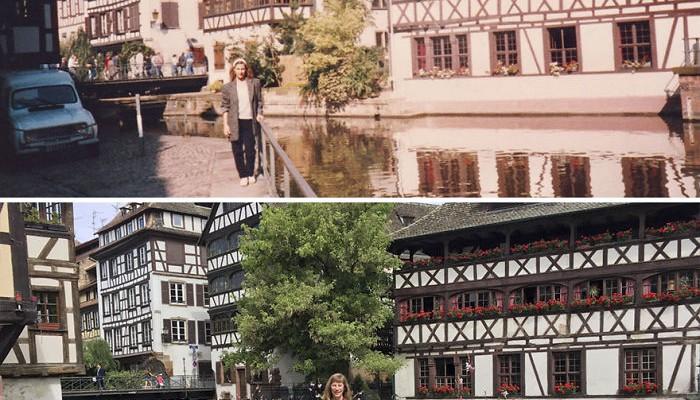 """""""30 de ani mai târziu: aceleași locații, dar diferite de mine"""" – ideea pe care a pus-o în practică o americancă (FOTO)"""