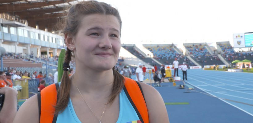 Din nou campioană! Alexandra Emilianov a obţinut medalia de aur la Campionatul European U-20