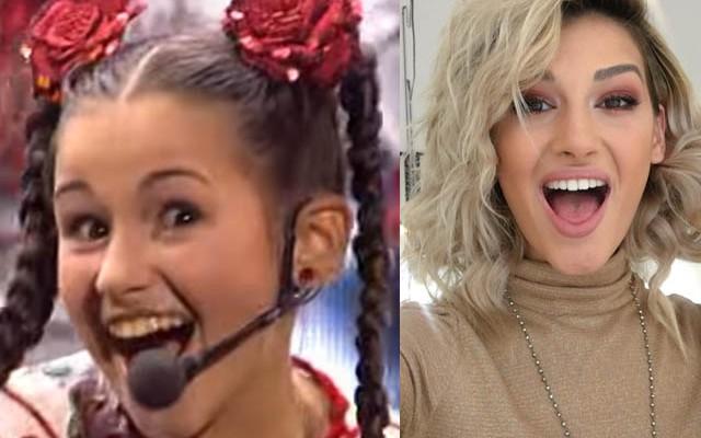De la fetiță cu cosițe, la cea mai sexy interpretă. Cum arăta Alina Eremia când s-a lansat în showbiz (FOTO)