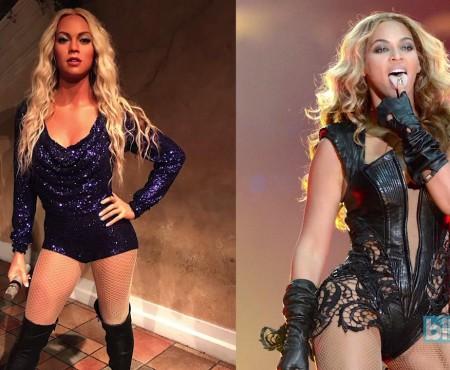 O copie bizară din ceară, a cântăreței Beyoncé, a stârnit nemulțumiri în rândul fanilor (FOTO)