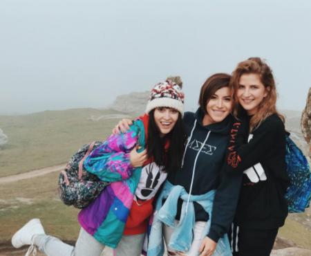 """""""Super zi, cu super fete!"""" DARA, Nicoleta Nucă și Irina Rimes, într-o escapadă la munte (FOTO)"""