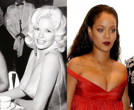 Rihanna și Cara Delevingne au reprodus, fără să vrea, o scenă hollywoodiană din anii '50 (FOTO)