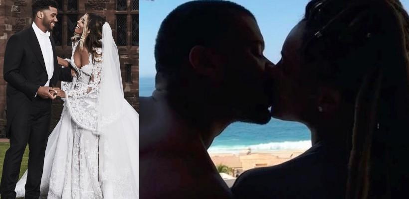 Îndrăgostiți ca-n prima zi! Ciara, surprinsă profund de soțul ei la 1 an de la căsătorie (VIDEO)