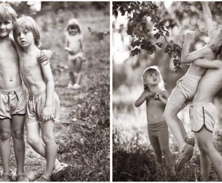 Cei mai fericiţi copii: Vacanţă la ţară, fără computer şi smartphone. Imagini capturate de o fotografă poloneză (Foto)