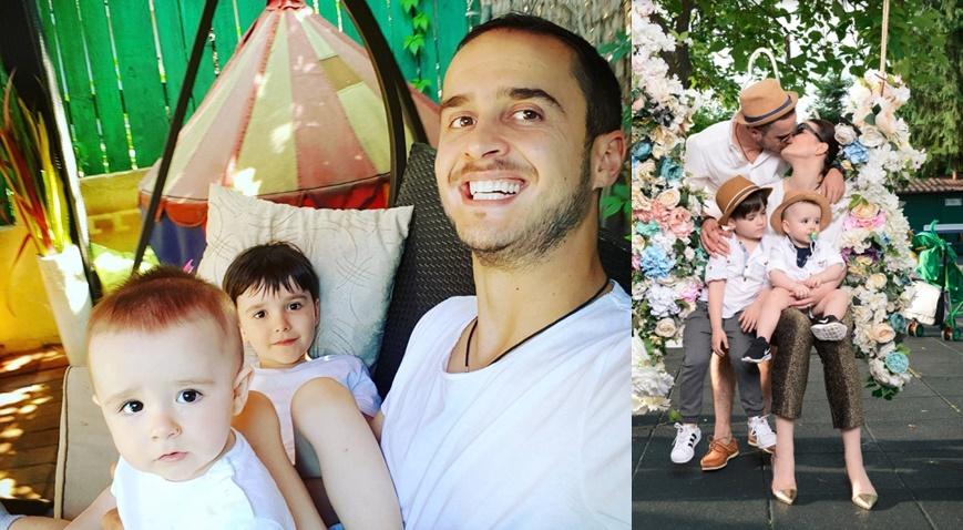 Șerban Copoț, solistul din Animal X, se laudă cu o familie adorabilă! E tatăl a doi băieți (FOTO)