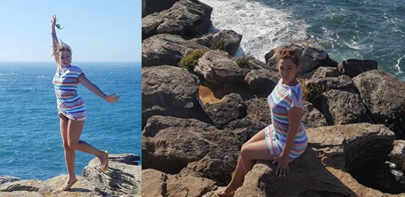 Dana Markitan, cucerită de Portugalia. A văzut în premieră oceanul grație unei prietene din copilărie