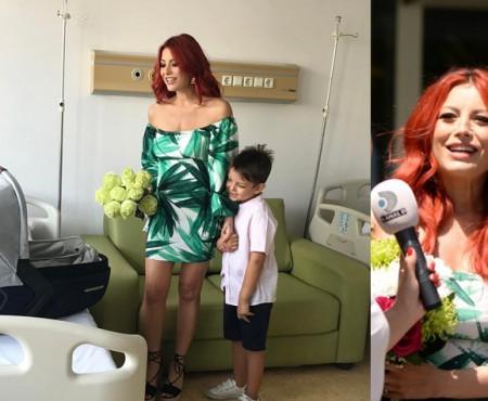 Elena Gheorghe și-a adus fetița acasă! Ce prenume cochet are nou-născuta (FOTO)