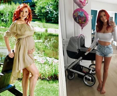 La o săptămână de la naștere, Elena Gheorghe își afișează silueta pe Instagram! Arată superb