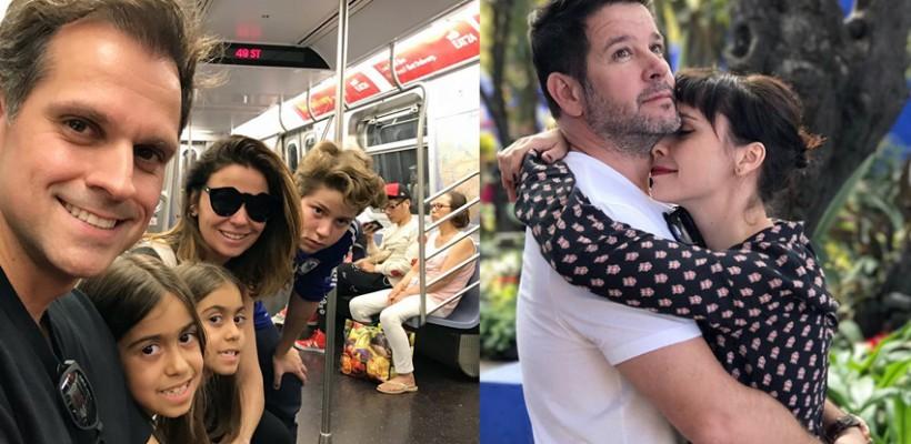 Giovanna Antonelli și-a revăzut în sfârșit fiul. Băiatul locuiește cu tatăl său, actorul Murilo Benício