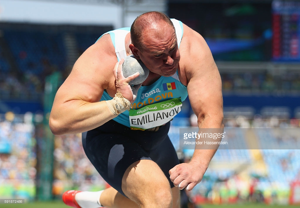 on Day 13 of the Rio 2016 Olympic Games at the Olympic Stadium on August 18, 2016 in Rio de Janeiro, Brazil.
