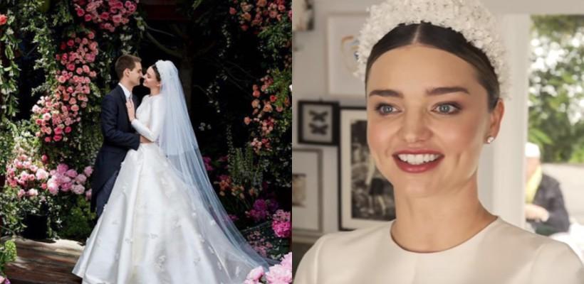 O mireasă plină de eleganță și rafinament! Vezi primele imagini de la nunta Mirandei Kerr (FOTO/ VIDEO)