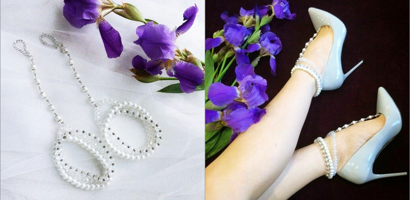 O meșteriță handmade de la Călărași creează bijuterii fine, pentru încheietura piciorului! (FOTO)