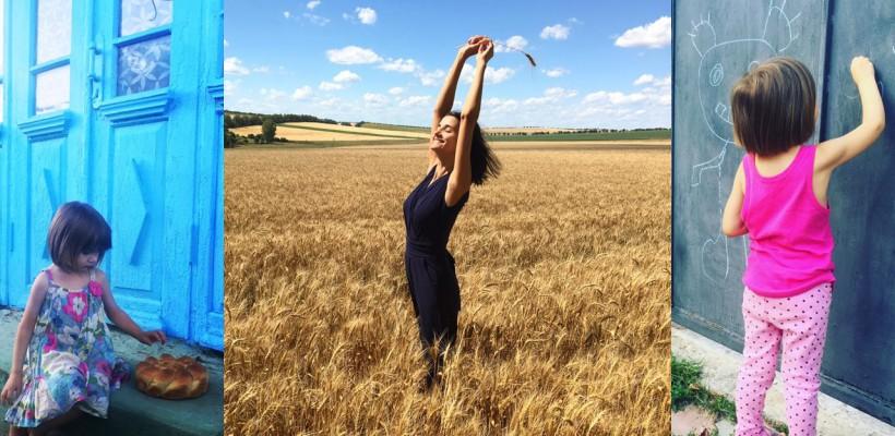 """Lilu, despre frumusețea vieții de la sat: """"Amelie știe cum se mulge vaca, ce sunt nutriile și la ce folosește coasa"""""""