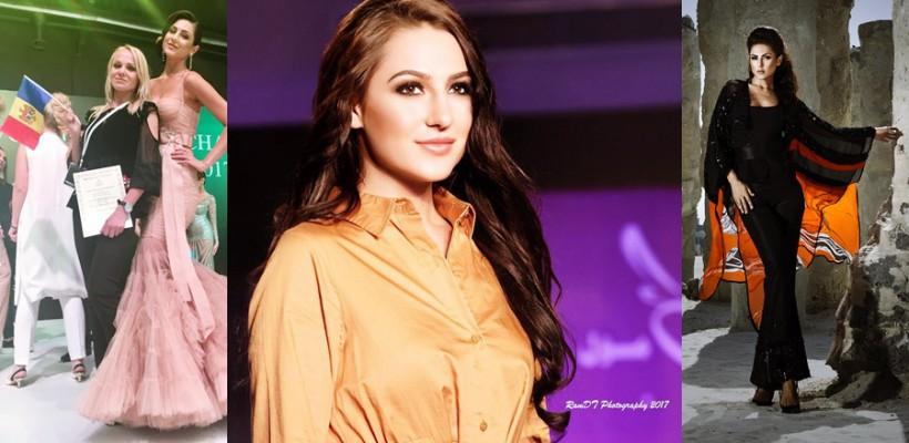 O tânără cu rădăcini basarabene e model de succes la Dubai. Cunoaște-o pe Luba Didenko