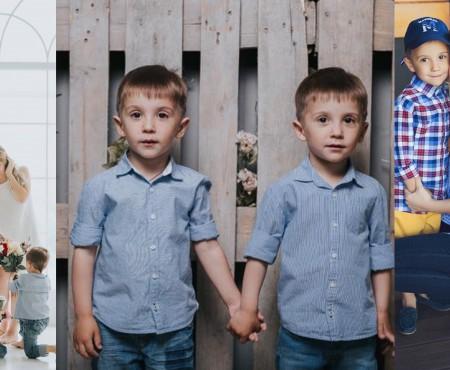 """Gemenii familiei Manciu au împlinit 5 anișori! Olga: """"La mulți ani, mini-bărbații mei"""""""